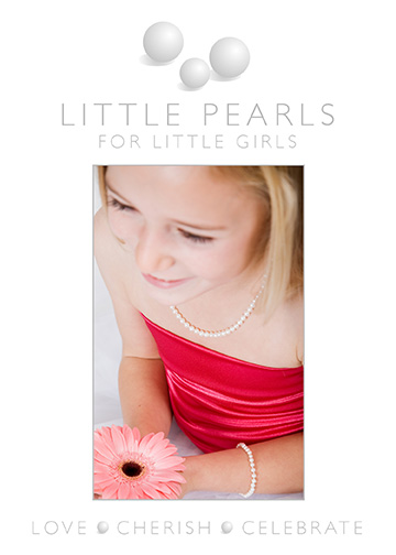 Little Pearls for Little Girls logo